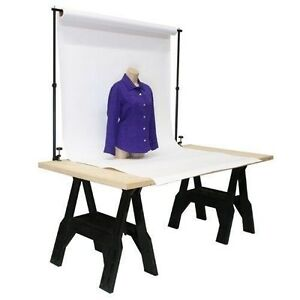 Tabletop Background Support System Home Studio Product Photography