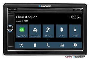 Blaupunkt Oslo 370 Doppel-DIN MP3-Autoradio Touchscreen DAB Bluetooth USB SD iPo