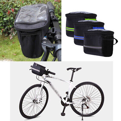 3pack Bike Front Handlebar Bag Riding Front Tube Storage Pouch Pack Waterproof Ebay