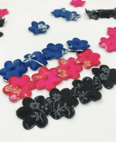 Clearance~ 90 Color Embroidery Brocade Silk Fabric Flower Applique//Trim//Sew H345
