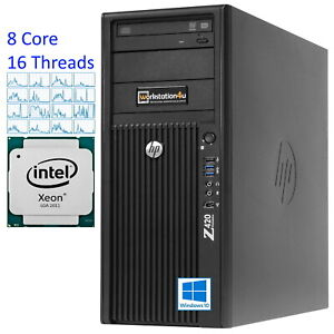 8-CORE HP Z420 Workstation E5-4650 i7, 3,3GHz, 240GB SSD, 32GB Ram spots, Quadro K2200