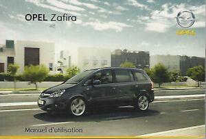 OPEL-ZAFIRA-B-Manuel-d-Utilisation-2008-Betriebsanleitung-BA