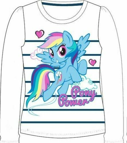 Girls Official Character MY LITTLE PONY Long Sleeve T-Shirt  4-9 years