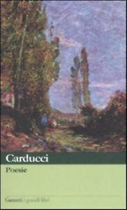Poesie-CARDUCCI-GRANDI-LIBRI-GARZANTI-CODICE-9788811362241