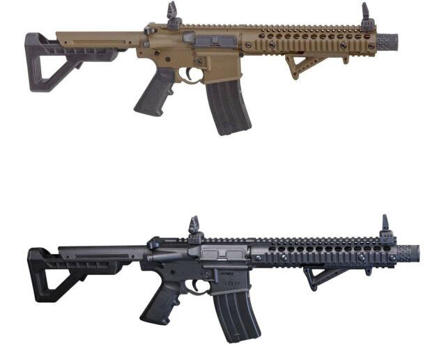 DPMS Crosman Full Auto CO2 Powered BB Gun Air Rifle DSBR Your Choice -  Black/FDE