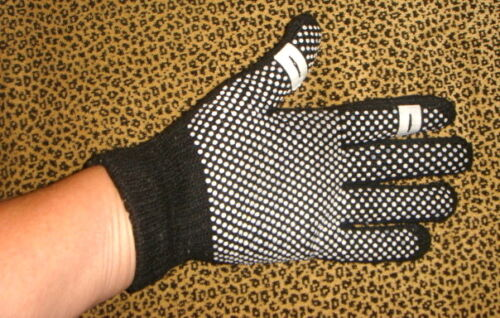 Nubs give a good GRIP Texting Text Gloves PUSH OUT finger tips TEXT while WARM