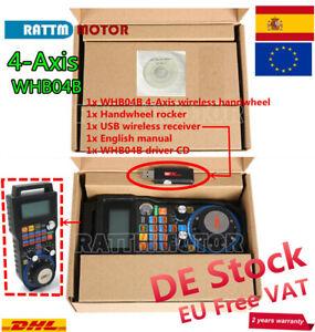 EU-4-Axis-USB-Mach3-Wireless-Pendant-Handwheel-MPG-CNC-Machine-Remote-Control