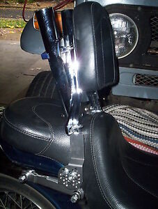 Universal Motorcycle Driver Backrest Support