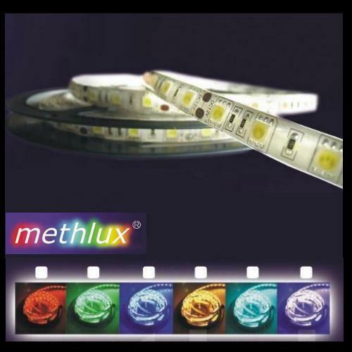 SMD LED 5050 Light Strip 5m Strips Band Power Strips Coloured Blue Red Green V