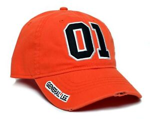 Details about New General Lee 01 Orange Embroidered Cotton Twill Cap Hat  Dukes of Hazzard b492a2175c5