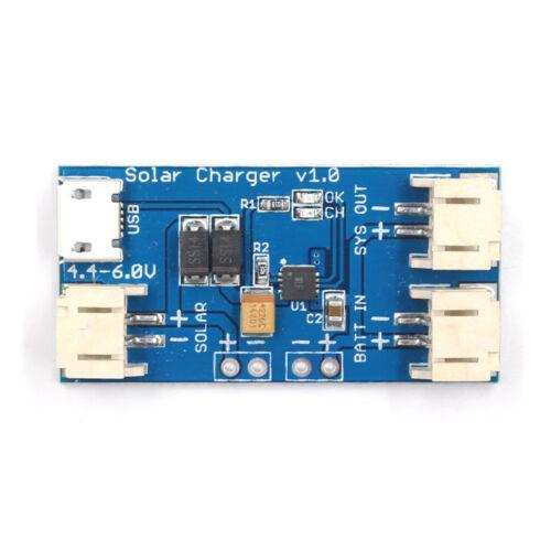 5PCS CN3065 500mA Mini Solar Lipo Lithium Battery Charger Board Module NEW