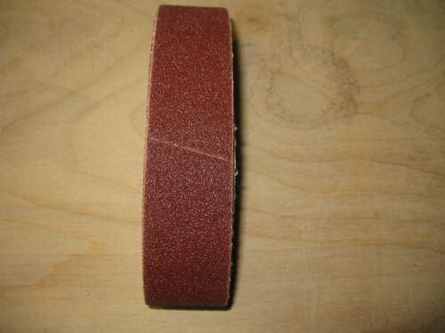 "5pc 1-1//4 x 12-1//16/"" sanding belts to fit Micro-Mark model 81466 sander 80 grit"