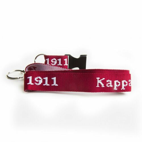 Kappa Alpha Psi Fraternity New Woven Embroidered Lanyard  NICE ONE!!