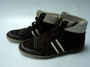 34d49af186a Image is loading Authentic-Brown-Gucci-High-Tops-Size-12-Excellent-