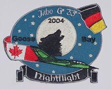 Aufnäher Patch JaBoG 33 Goose Bay 2004 Jagdbombergeschwader 33 ...........A2216