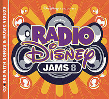 Radio Disney Jams, Vol. 8 by Disney (CD+DVD)