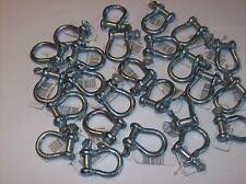 25 Bow Shackle Clevis Screw Pins Anchor 516 Czcbs5