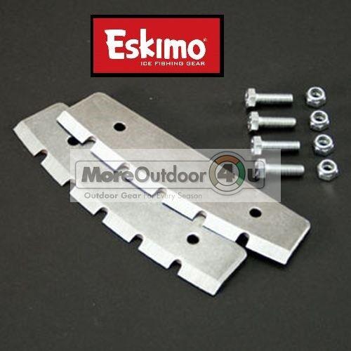 QB8 QB10 NEW Eskimo Ice Auger Quantum Replacement Ice Auger Blades Pair