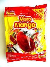 VERO MANGO PALETA 20ct, Mango Chili Lollipops, Paletas de Mango, Mexican Candy