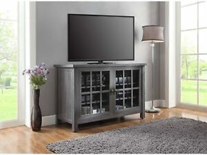 Image Is Loading Entertainment Center Cabinet Stand Tv Console For Flat
