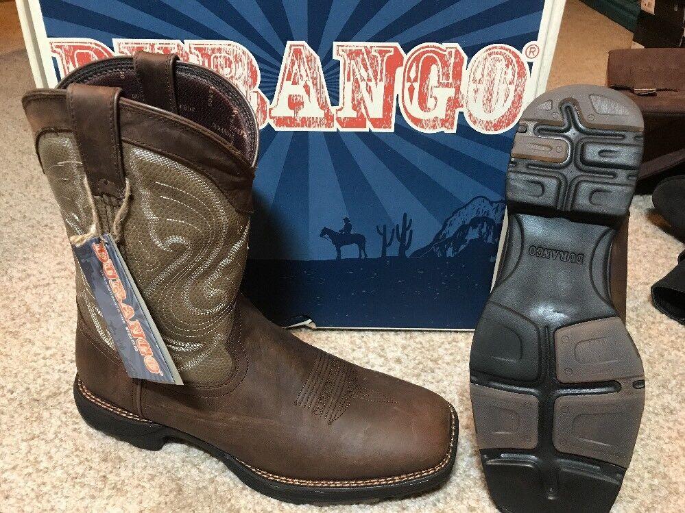 Durango Work Western Ultra Lite Boots DRD0182 Women's 11M Brown