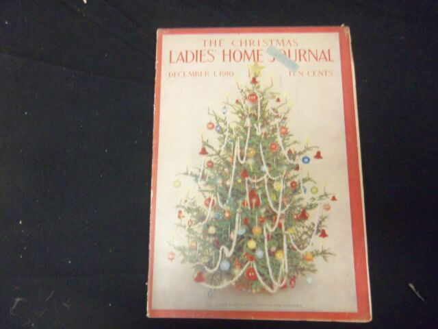 1910 DEC 1 LADIES' HOME JOURNAL MAGAZINE - GREAT ILLUSTRATIONS & ADS - ST 1706