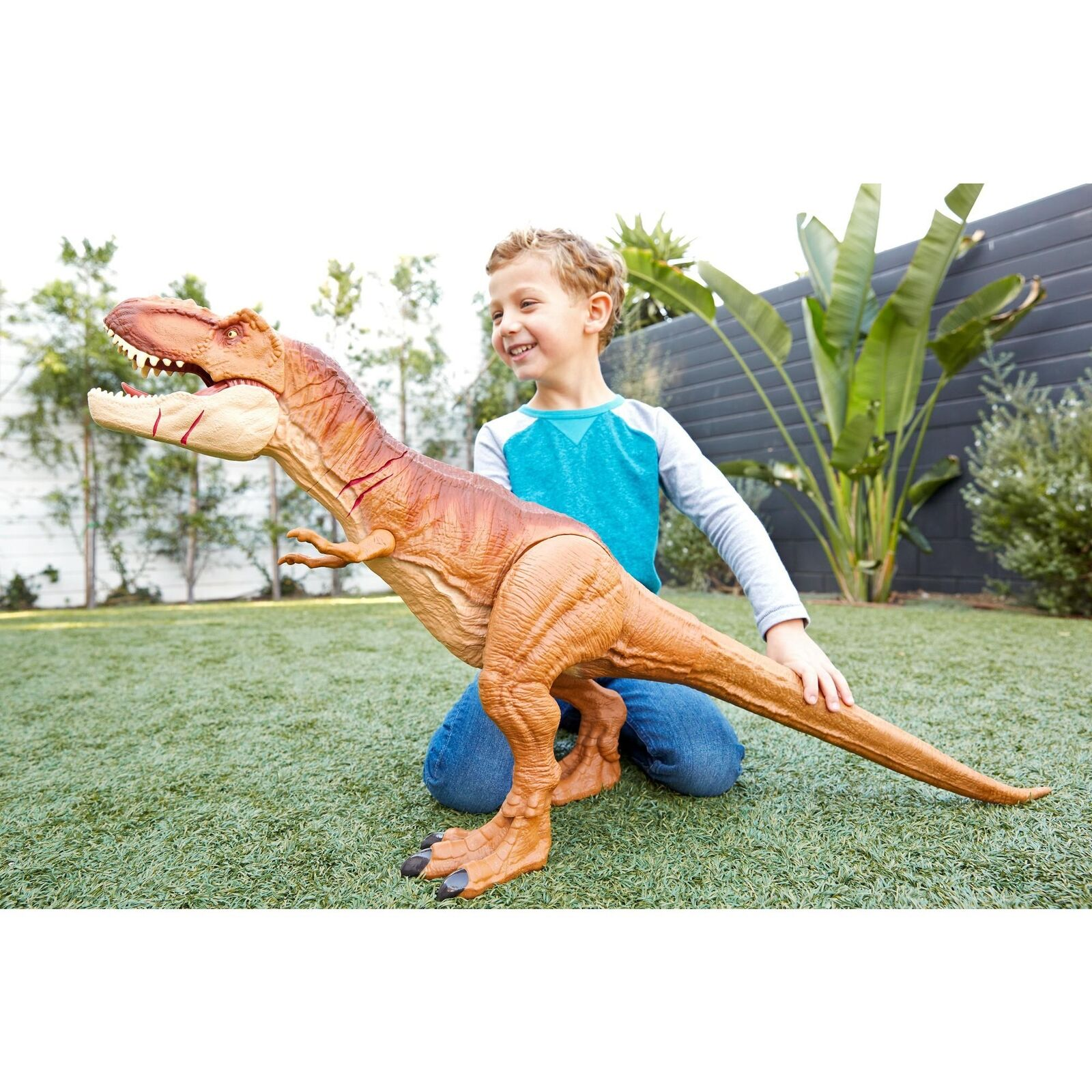 Big Dinosaur Toys Jurassic World Kids Fun Gift Giant TRex Large Figure For Boys