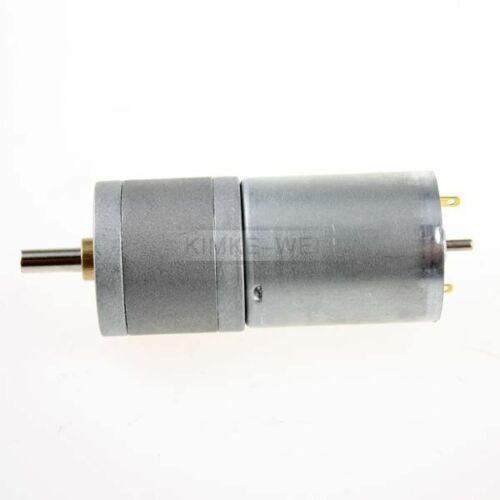 12V DC 250RPM Powerful High Torque Gear Box Motor