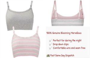 62c57a3641 Image is loading Mothercare-Blooming-Marvellous-Breastfeeding-Bra-Nursing- Maternity-Sleep-
