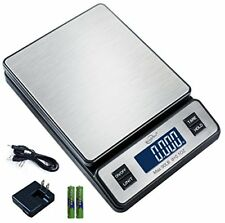 Digital Postal Scale Weight Shipping Grams Pound Ounce 90 Lbs Kitchen Lcd Kgoz