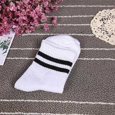 Fashion Women Ankle Socks Girl Casual Cotton Socks Cute Striped High Socks 1Pair