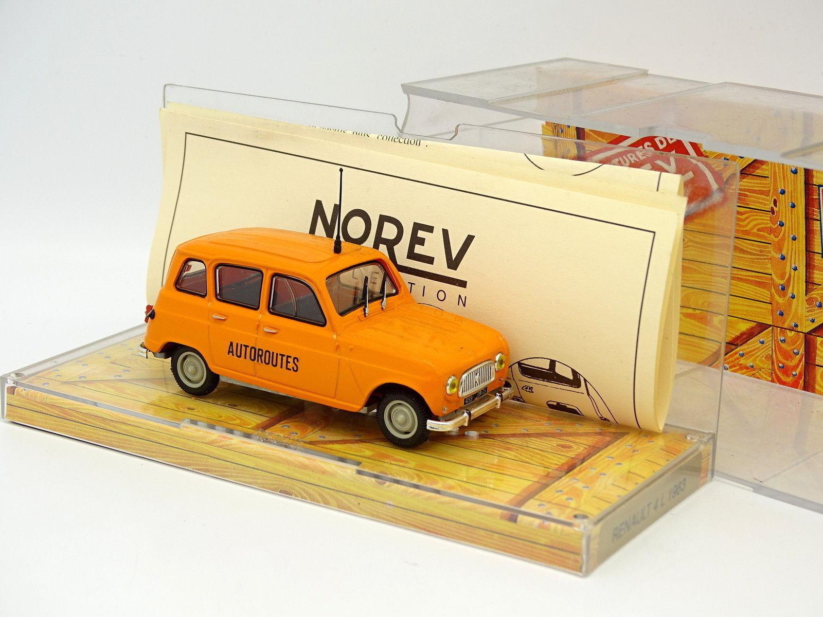 Norev 1/43 - Renault 4L Controllo Strade