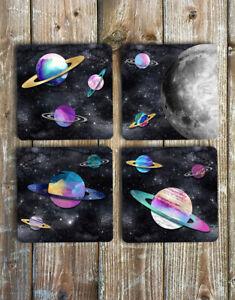 Space-Drink-Coasters-Set-of-4-Non-Slip-Neoprene