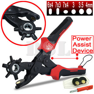 10-034-Power-Assist-pinzatrice-in-pelle-girevole-Cintura-Occhielli-Pinze-Pinza-in-plastica