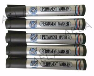 CHEAPEST-Black-Bullet-Tip-Permanent-Marker-Pen-Waterproof-Big-Pack-FREE-GIFT-PEN