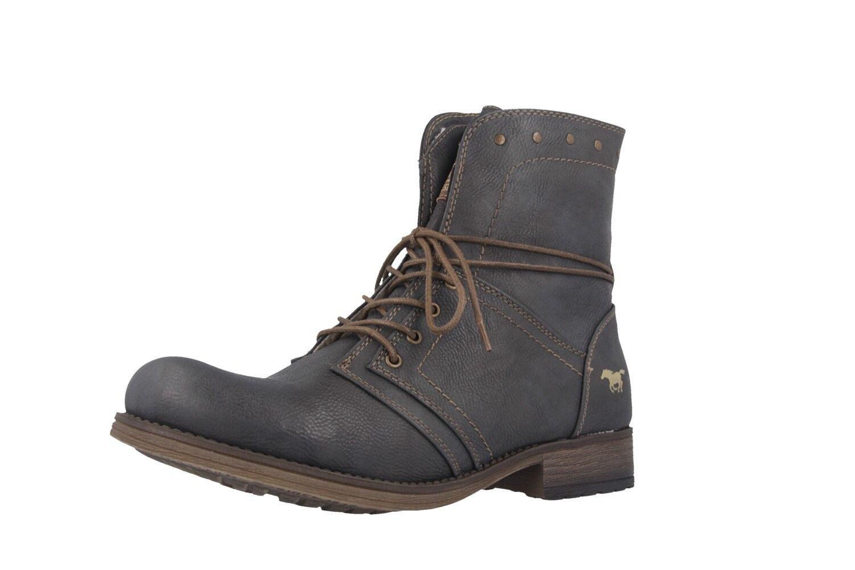 Mustang skor Ankle Ankle Ankle stövlar in Plus Storlek stor kvinnor skor grå XXL  officiellt godkännande