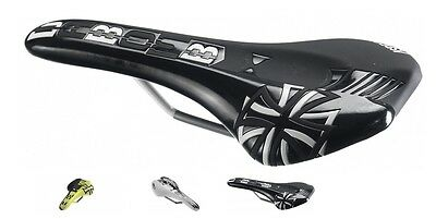 NIB DA Bomb ASPECT WHITE XC // MTB Saddle low profile design Saddles NEW