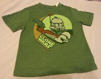Boys Tee Shirt Sz 4t Old Navy Collectabilitees The Clone Wars Green Short Sleeve