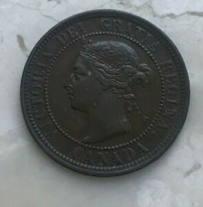 1891-Canada-1-One-Cent-Nice-Condition