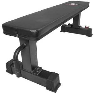 Titan-Fitness-Flat-Weight-Bench-with-Handle-and-Wheels-Supports-1000-lbs