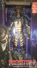 "CITY HUNTER PREDATOR ""LED LIGHTS"" 1/4 SCALE Neca PREDATOR Part 2 2016 18"" INCH"