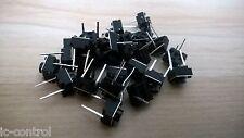 10pcs 6x6x5mm 2 Pin PCB Tactile Push Button Switch