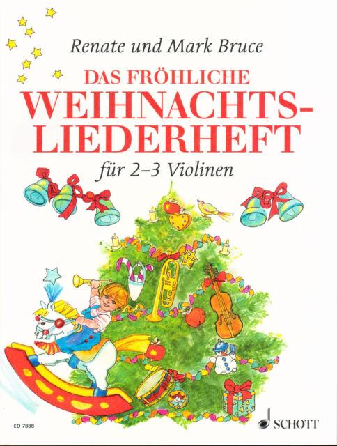 Das fröhliche Weihnachtsliederheft - Weihnachtslieder - ED7888 - 9790001081696