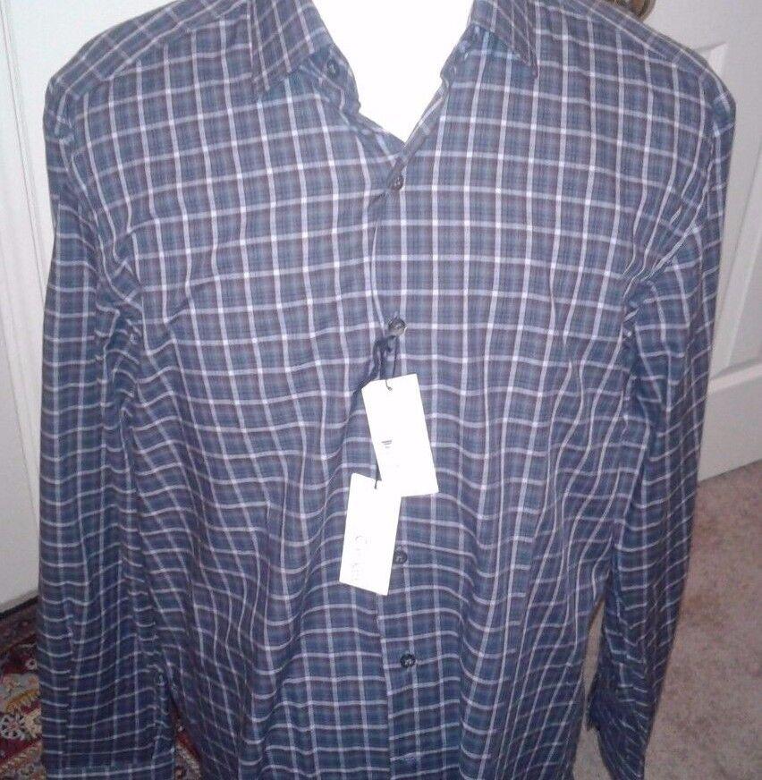 CULTURATA ROMA  Shirt  XL  171 2  44 ...100% Cotton  Made  IN