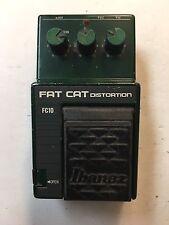 Ibanez FC-10 Fat Cat Distortion Rat Overdrive Rare Vintage Guitar Effect Pedal