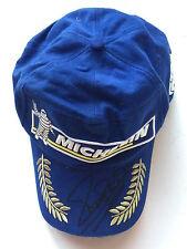 Michael Bartels Hand Signed Michelin Podium Cap Le Mans.
