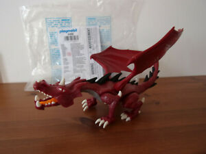 Playmobil-Erganzungen-amp-Accessoire-6498-Rouge-Dragon-Neuf