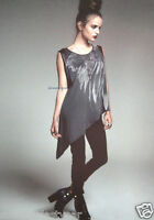 Maleficent Asymmetrical Feather Top Hot Topic Maleficent: The Movie Exclusive