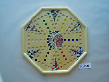WAHOO WA HOO BOARD GAME  15 x 15 inch.  Octagon.  6 player with images.  KK10