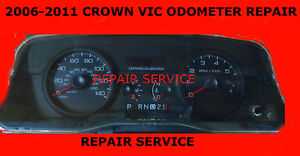 Image Is Loading  Ford Crown Vic Odometer Speedometer